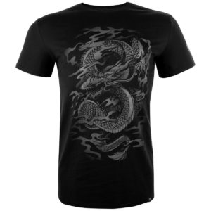 tričko pánske VENUM - Dragon's Flight - Black / Black - VENUM-03119-114