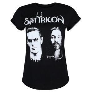 tričko dámske SATYRICON - Two faces - BLACK - SAT2019-10-29-002